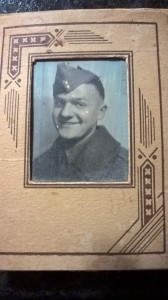This photograph is of my uncle who served in the Infantry during World War Two.